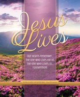 Jesus Lives (Psalm 25:1, NIV84) Bulletins, 100