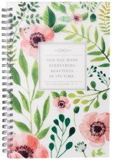God Has Made Everything Beautiful Wirebound Notebook