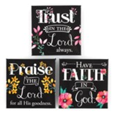 Trust In The Lord Magnet, Set of 3