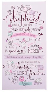 Psalm 23 Wall Plaque