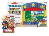 Tabletop Theater with Jolly Jobs Hand Puppets
