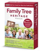 Family Tree Heritage Platinum 9 CD-ROM