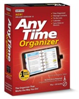 Anytime Organizer Deluxe Version 15 CD-ROM