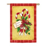 Candy Cane Bouquet, Large Art Flag