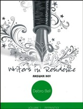 Writers in Residence Volume 1 Answer Key