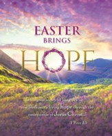 Easter Brings Hope - Sunrise (1 Peter 1:3) Large Bulletins, 100