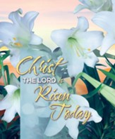 Christ the LORD is Risen Today Large Bulletins, 100