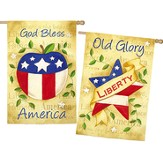 God Bless America, 2-Sided Flag, Large