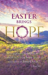 Easter Brings Hope - Sunrise (1 Peter 1:3) Bulletins, 100