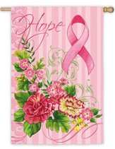 Pink Ribbon Hope Flags