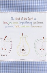 The Fruit of the Spirit (Galatians 5:22-23), Pack of 100 Large Bulletins
