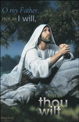 Christ at Gethsemane (Ecclesiastes 3:20) Bulletins, 100