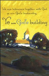 Ye are God's Building Country Church (1 Corinthians 3:9) Bulletins, 50