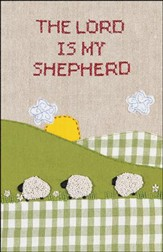 The Lord is my Shepherd Cross Stitch (Psalm 23:1) Bulletins, 100