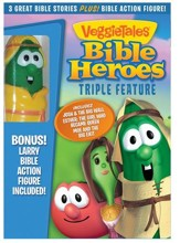 Bible Heroes Triple Feature w/ Action Figure