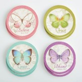 Butterfly Blessings Coasters, Pack of 8