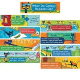 Pete the Cat Reading Strategies Mini Bulletin Board, Grades K-1