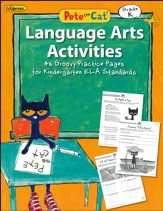 Pete the Cat Language Arts Workbook, Kindergarten