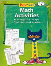 Pete the Cat Math Workbook, Grade 1