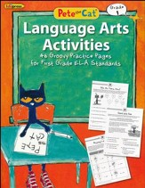 Pete the Cat Language Arts Workbook, Grade 1