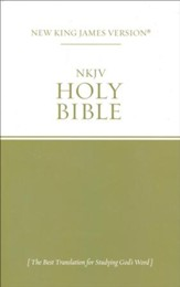 NKJV Outreach Holy Bible  - Slightly Imperfect