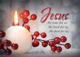 Celebrate Our Savior, Box of 12 Christmas Cards (KJV)