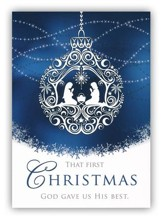 The First Christmas, Box of 12  Christmas Cards (KJV)
