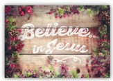 Believe, Box of 12 Christmas Cards (NIV)