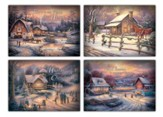 Home for Christmas, Box of 12 Christmas Cards (KJV)