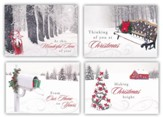 Winter Wonderland, Box of 12 Christmas Cards (KJV)