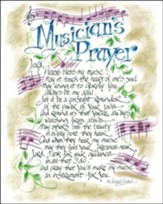 Musician's Prayer Plaque