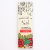 Coloring Bookmarks, Red