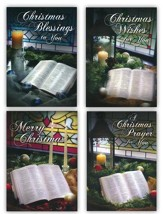 A Peaceful Christmas, Box of 12 Christmas Cards (KJV)