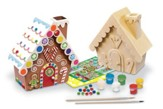 Gingerbread House, Wood Paint Kit