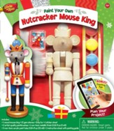 Nutcracker Mouse King, Wood Paint Kit