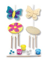 Wind Chime, Mini Wood Paint Kit