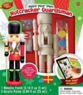 Nutcracker Guardsman, Wood Paint Kit
