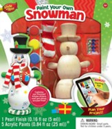 Snowman, Wood Paint Kit