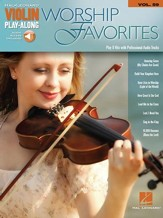 Worship Favorites (Violin) Book/Online Audio