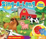 Old McDonald, Sing-A-Long Puzzle, 24 Pieces