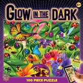 Ladybugs Glow in the Dark Puzzle, 100 Pieces