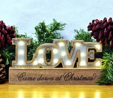 Love LED Plaque