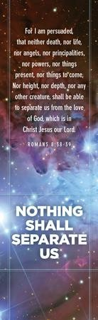 Romans 8:38-39 KJV Bookmarks, 25