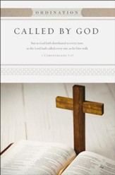 Called by God (1 Corinthians 7:17, KJV) Ordination Bulletins, 100