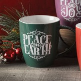 Hand-Drawn Mug Peace on Earth