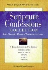 Scripture Confessions Gift Collection: Life-changing Words of Faith for Every Day - eBook