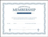 Membership Certificates (1 John 1:7) Package of 6