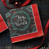 Joy to the World Luncheon Napkin