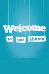 Welcome to our Church Folders (Psalm 122:1) Pack of 12