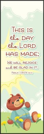 This is the Day (Psalm 118:24, NKJV) Bookmarks, 25